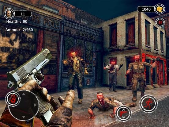 Dark City Zombie Shooting 3D screenshot 13