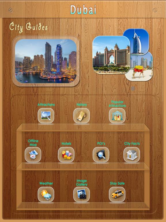 Dubai Offline Map Travel Guideのおすすめ画像1