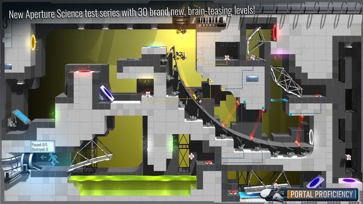 Bridge Constructor Portal screenshot-6
