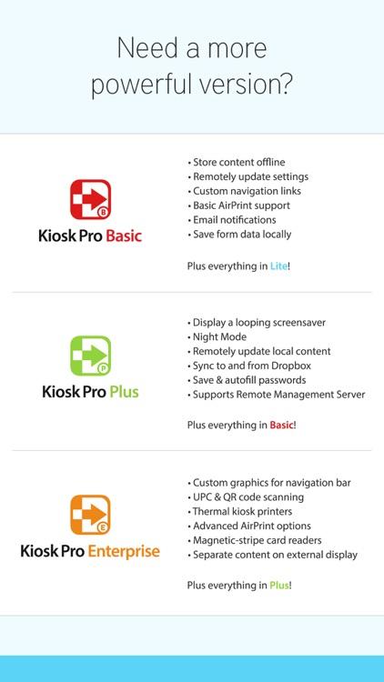 Kiosk Pro Lite screenshot-4