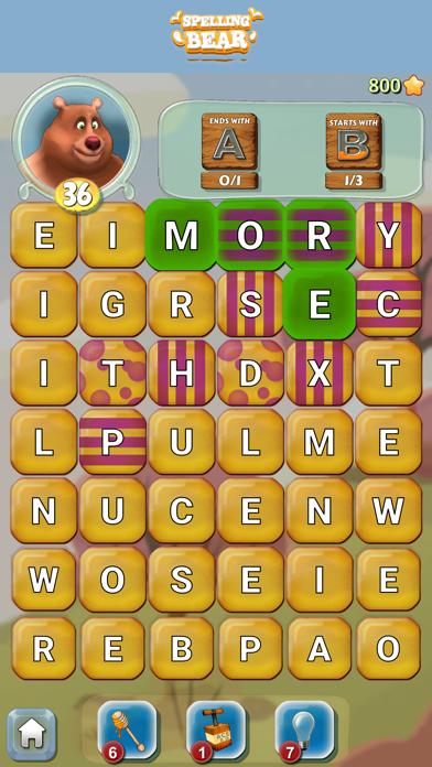 Spelling Bear :Honey Word Hunt screenshot 13