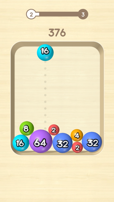 2048 Balls 3D screenshot 1