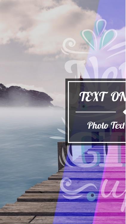 TextArt: Text On Photo screenshot-3