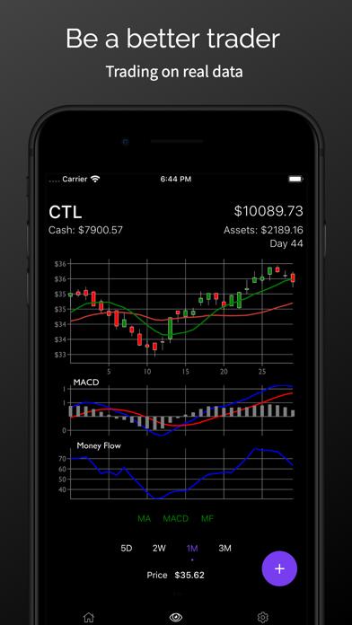 Stock Market Simulator Game Screenshots