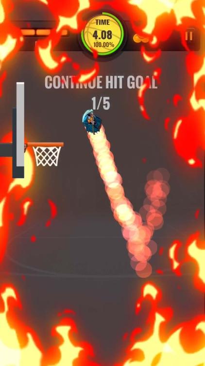 Hoop Hit - BasketBall Shot Hot screenshot-0