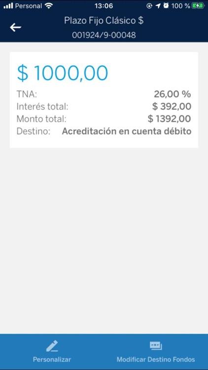 BBVA Argentina: banca móvil screenshot-3