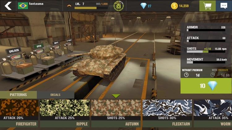 War Machines: 3D Tank Games screenshot-6
