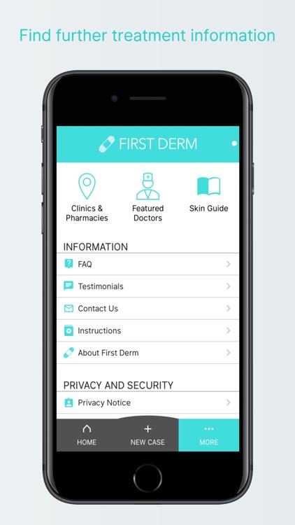 First Derm Online Dermatology screenshot-3