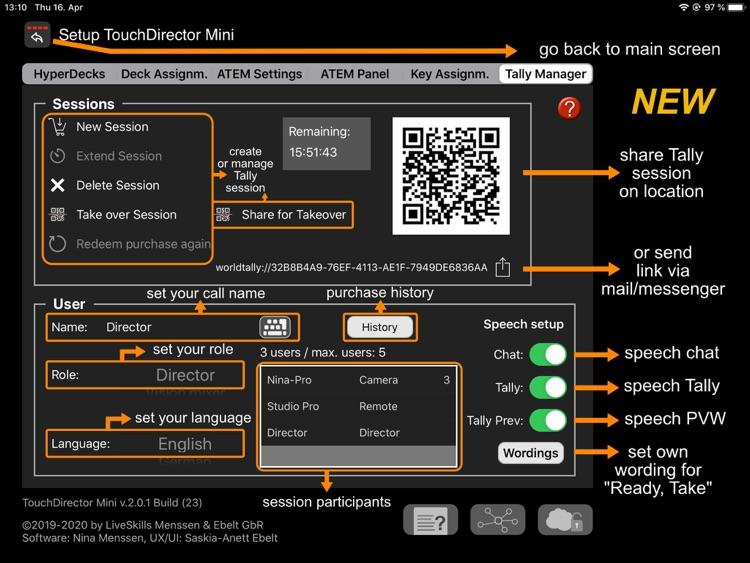 TouchDirector Mini screenshot-7