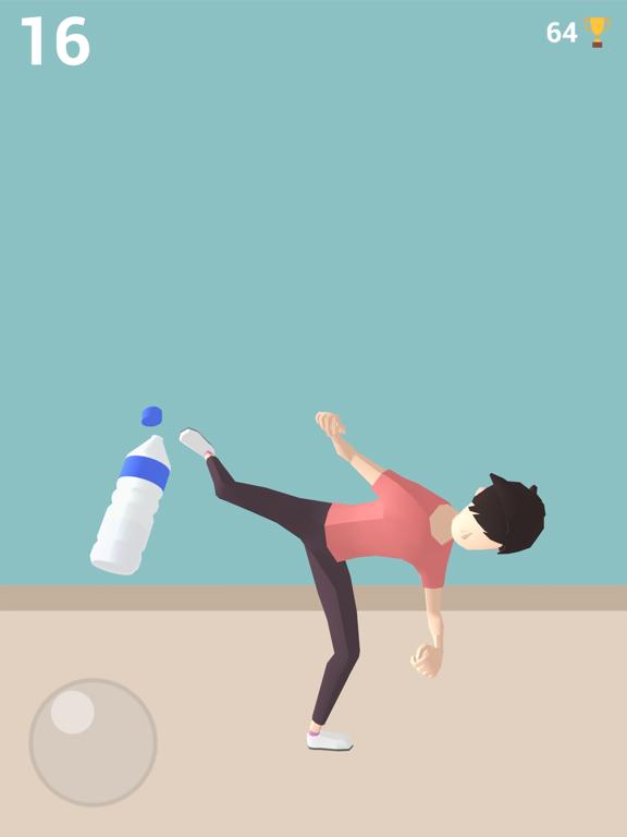 Bottle Cap Challenge Game 3D screenshot #1