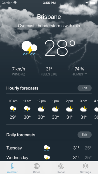 Weather · for Windows