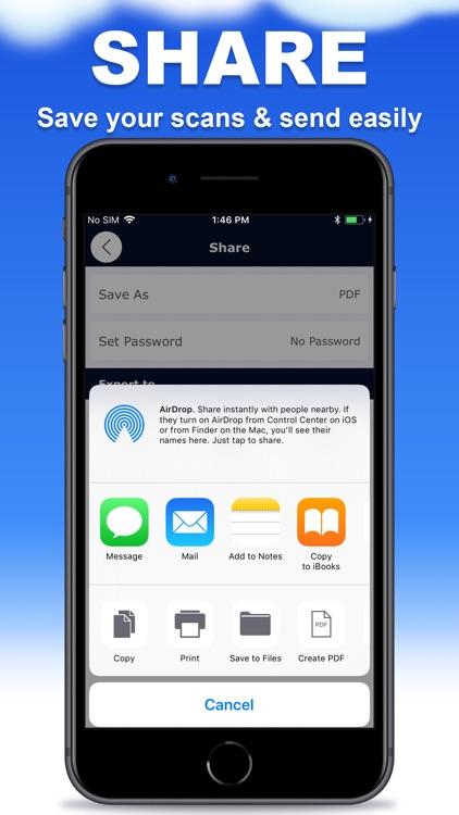 Scanner App - PDF Document screenshot-3