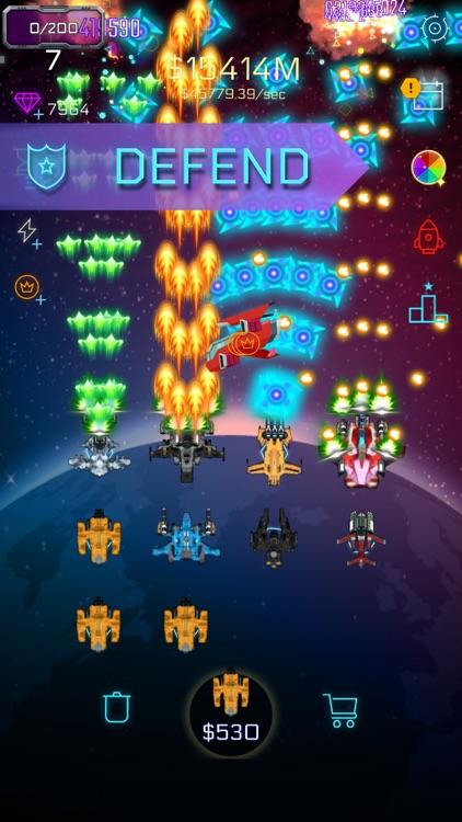 War Merge: Spaceship Defense screenshot-0