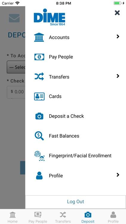 Dime Community Bank Mobile screenshot-5
