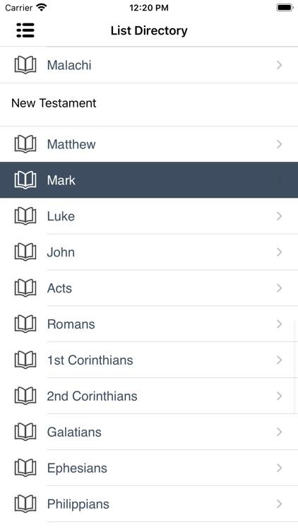 NKJV Bible Books & Audio screenshot-4