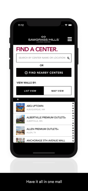 SIMON: Malls, Mills & Outlets on the App Store on