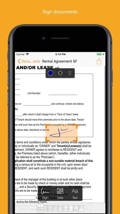 Genius Sign - PDF Editor