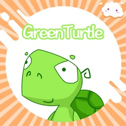 GreenTurtle-Sticker