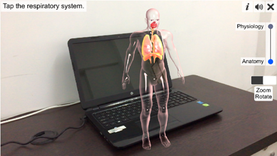 AR Respiratory system physiolo screenshot 1