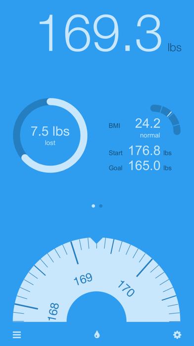 Track weight with DailyWeightのおすすめ画像1