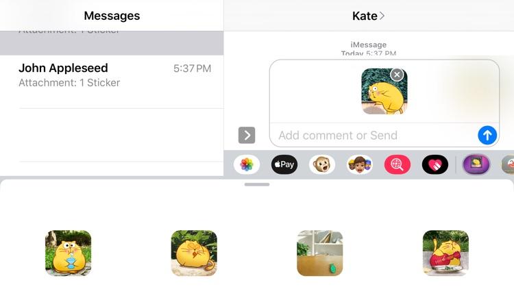 Happy Cat Stickers screenshot-4