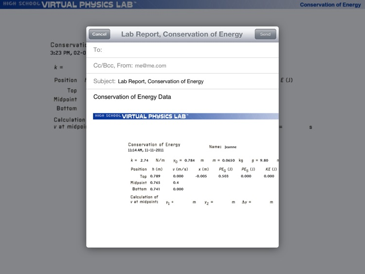 PP+ Conservation of Energy screenshot-4