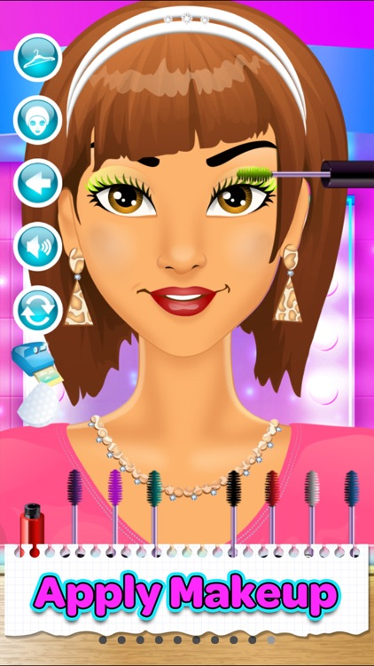 Back To School Makeup Games screenshot-8