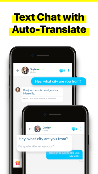 Olive - Live Video Chat App Screenshot