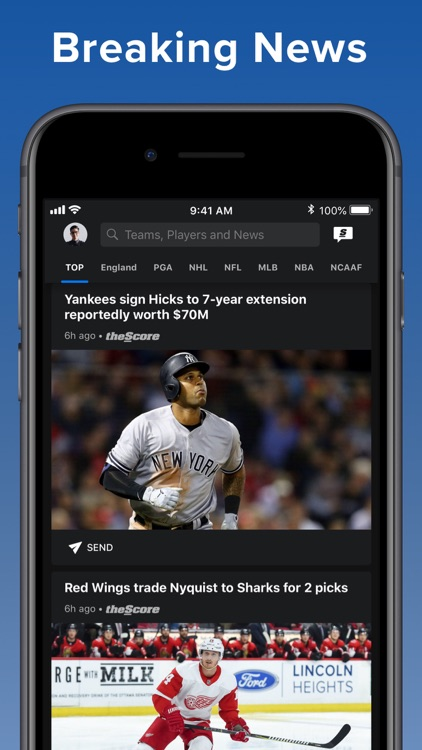 theScore: Sports News & Scores screenshot-4