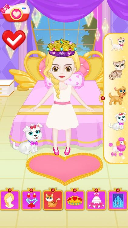 Princess Makeup Dress Design screenshot-5