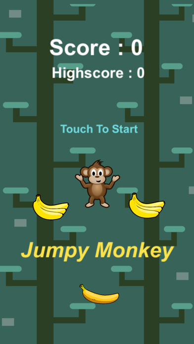 Monkey Jumpy screenshot 2