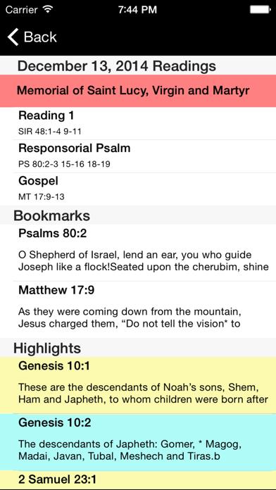 Catholic New American Bible REのおすすめ画像3