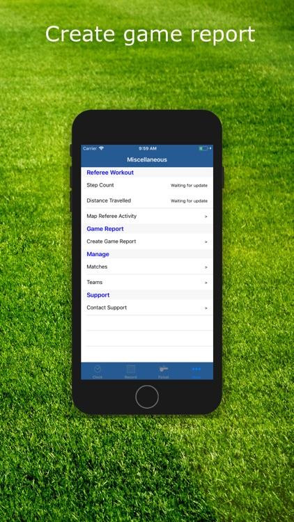 SFRef Soccer Referee Watch screenshot-6