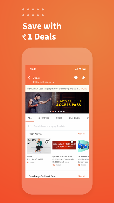 Freecharge - Payments & Wallet screenshot four
