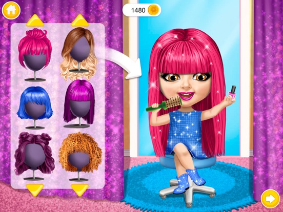 Скачать игру Sweet Baby Girl Beauty Salon 3