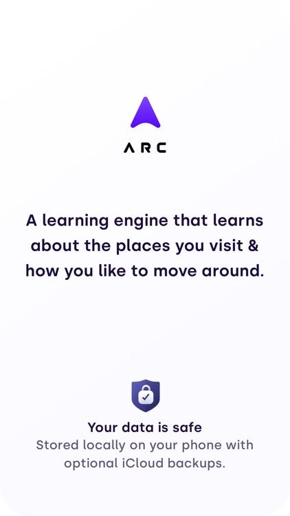 Arc App - Location & activity