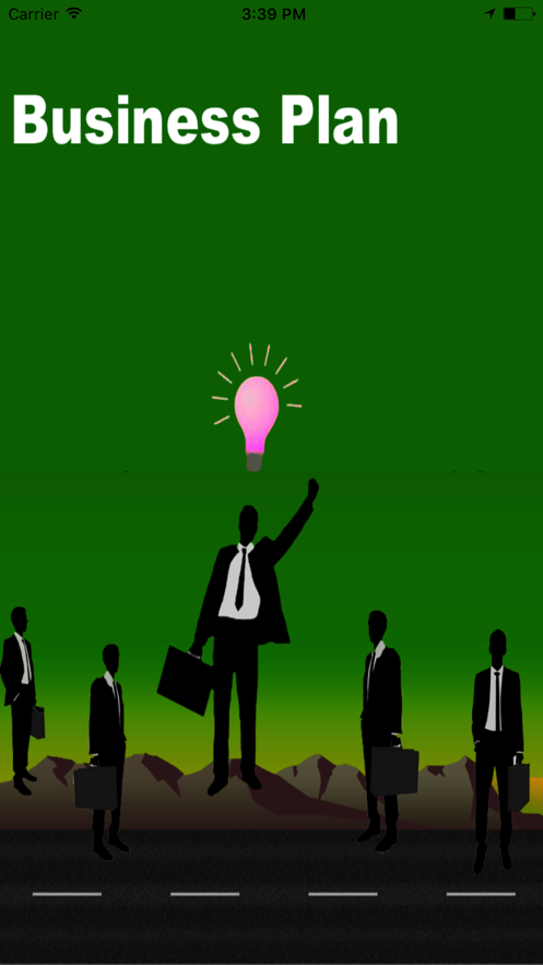 Business Plan(BP) App 截图
