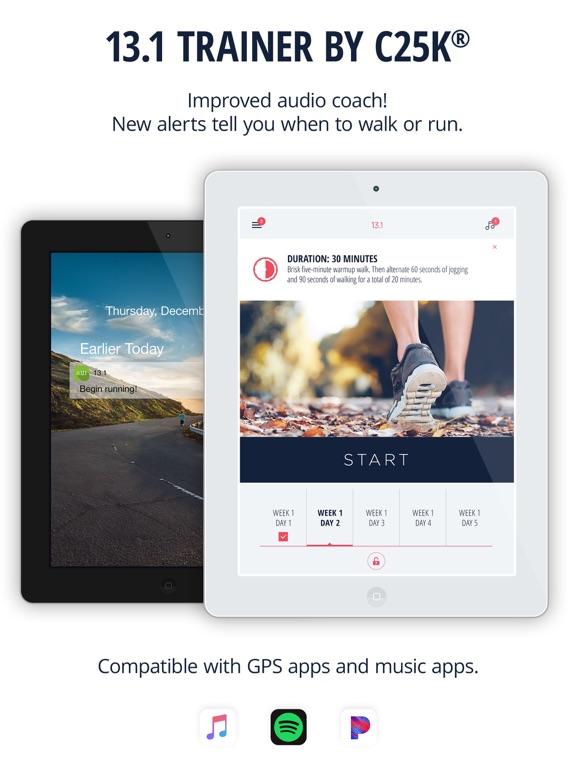 Half Marathon Trainer Pro - Run for PINK screenshot