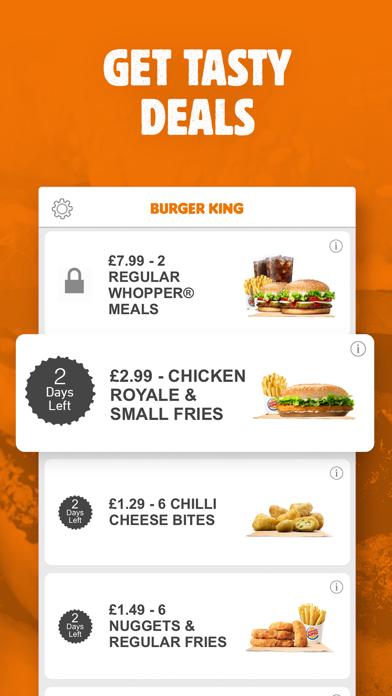 Burger King: Vouchers & Menu screenshot two