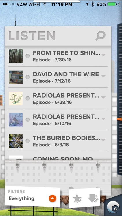 Radiolab screenshot-1
