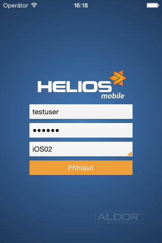 HELIOS Mobile - náhled