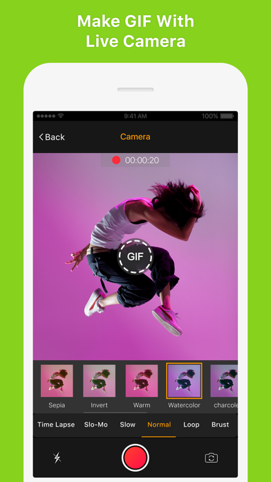 GIF Maker - Make Video to GIFs Screenshot