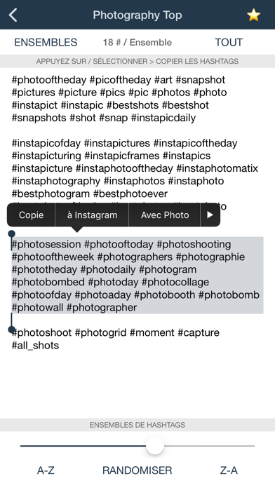 Screenshot #2 pour Hashtags for Likes - Tags Pro