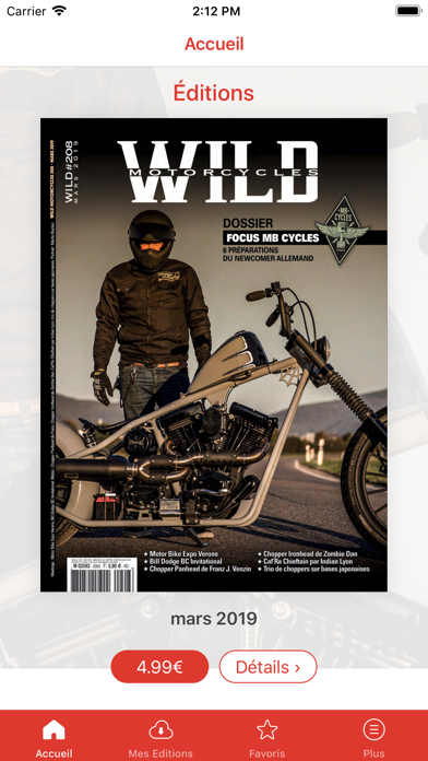 Wild Motorcycles Screenshot