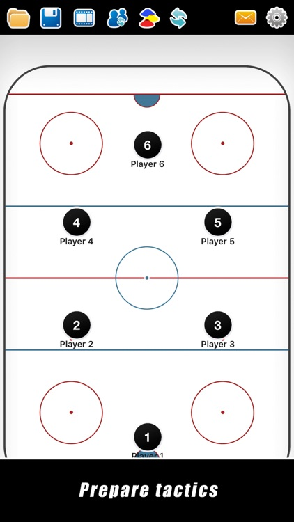 Coach Tactic Board: Hockey++