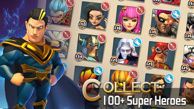 Clash of Zombies: Heroes Game screenshot-4