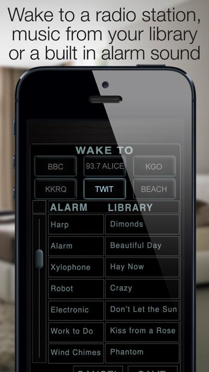 Best Clock Radio Alarm f screenshot-4