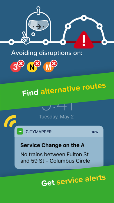 Screenshot for Citymapper in Indonesia App Store