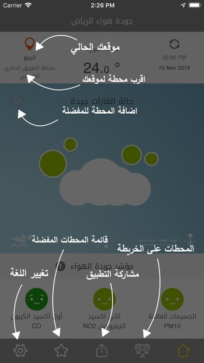 جودة هواء الرياض