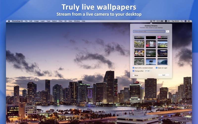 Desktop Streams for Mac